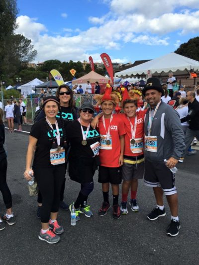 COA Youth and Family Participate in the Dana Point Turkey Trot