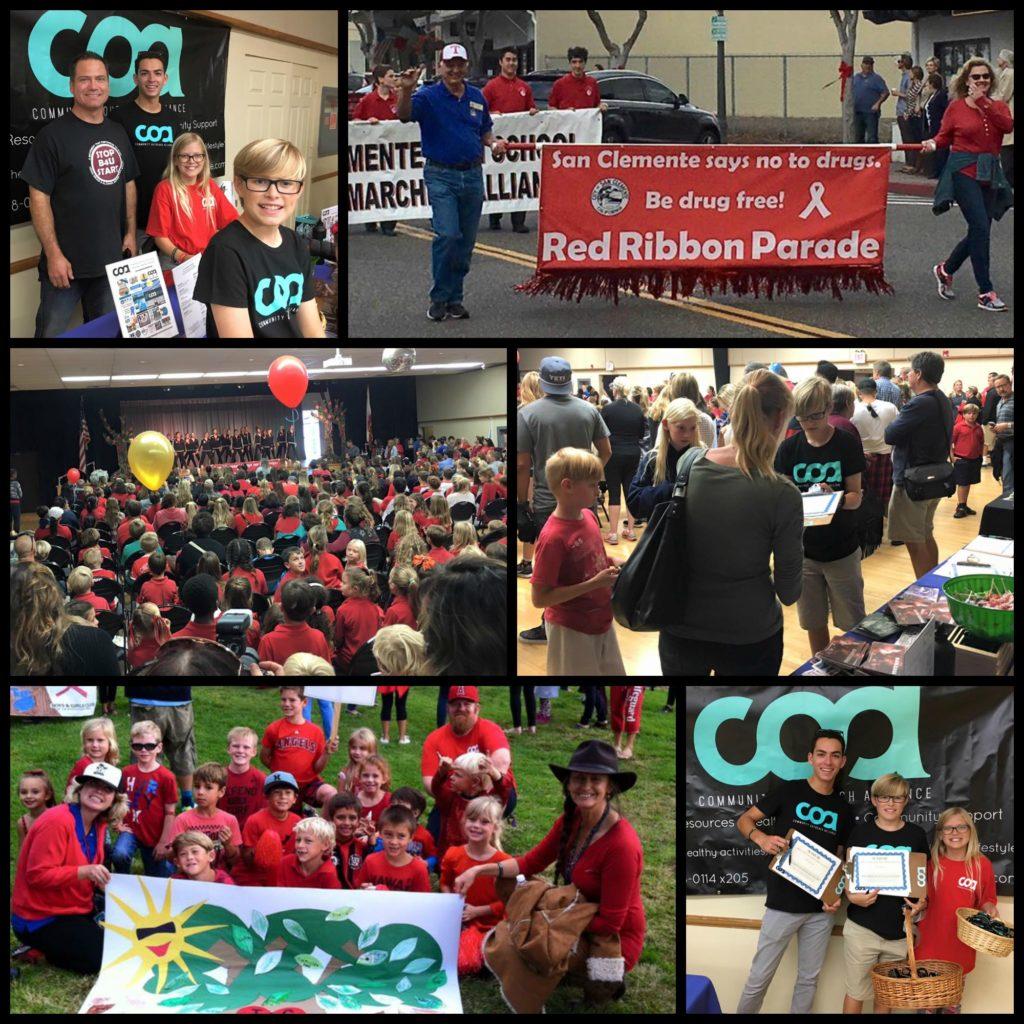 Drug Awareness at Red Ribbon Parade