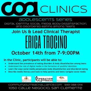 coa clinic with Erica Trocino