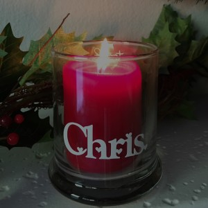 Memory Candle for the hole in your heart