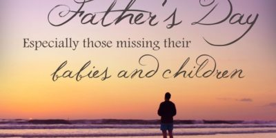 Honoring Father's Who Miss A Child
