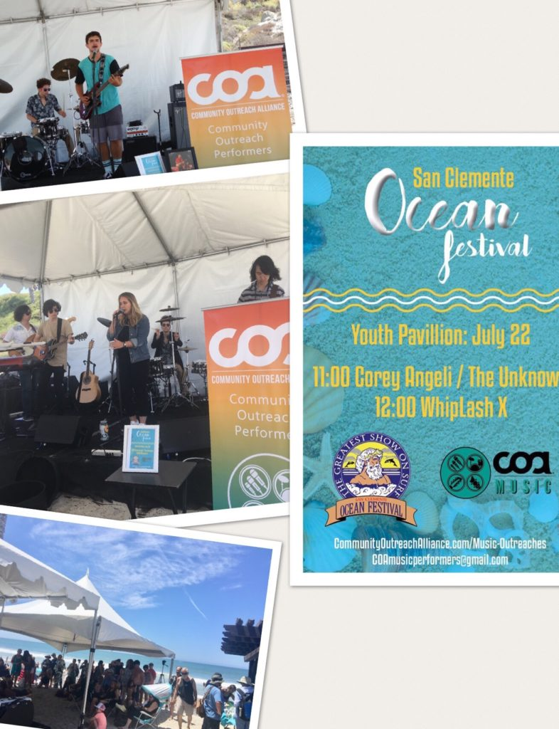 COA Performers at the Ocean Festival