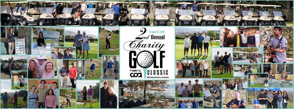 2nd annual golf tournament event