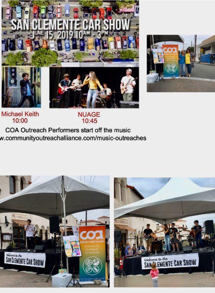 COA cars music outreach